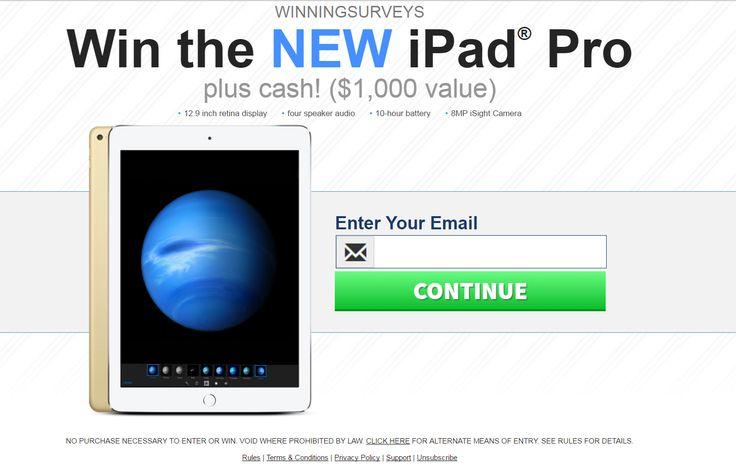 CoolSavings - iPad Pro $1000   Get the iPad Pro Now!!