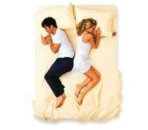 What Your Sleeping Style Says About Your Marriage - Redbook  This is how he and me sleep...lol...dead on interpretation