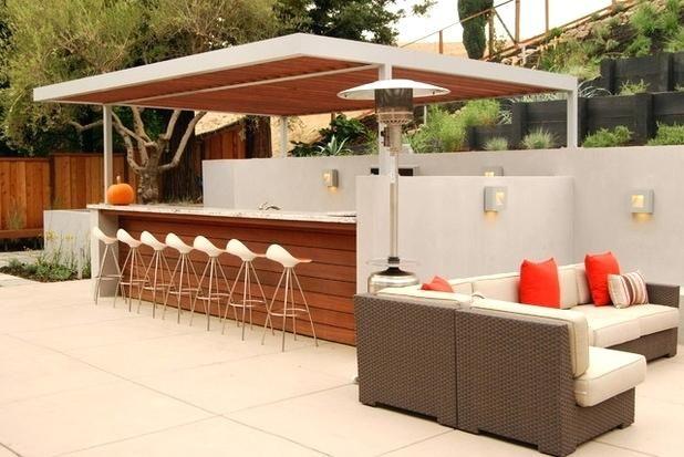 bar exterieur deco bar exterieur faire un bar exterieur en beton ...