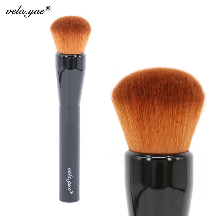 vela.yue Makeup Brush Medium Silk Finish Brush Multipurpose Powder Foundation Face  Makeup Tool