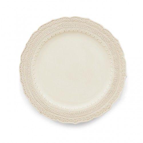 Finezza Cream Dinner Plate - Arte Italica $48.55