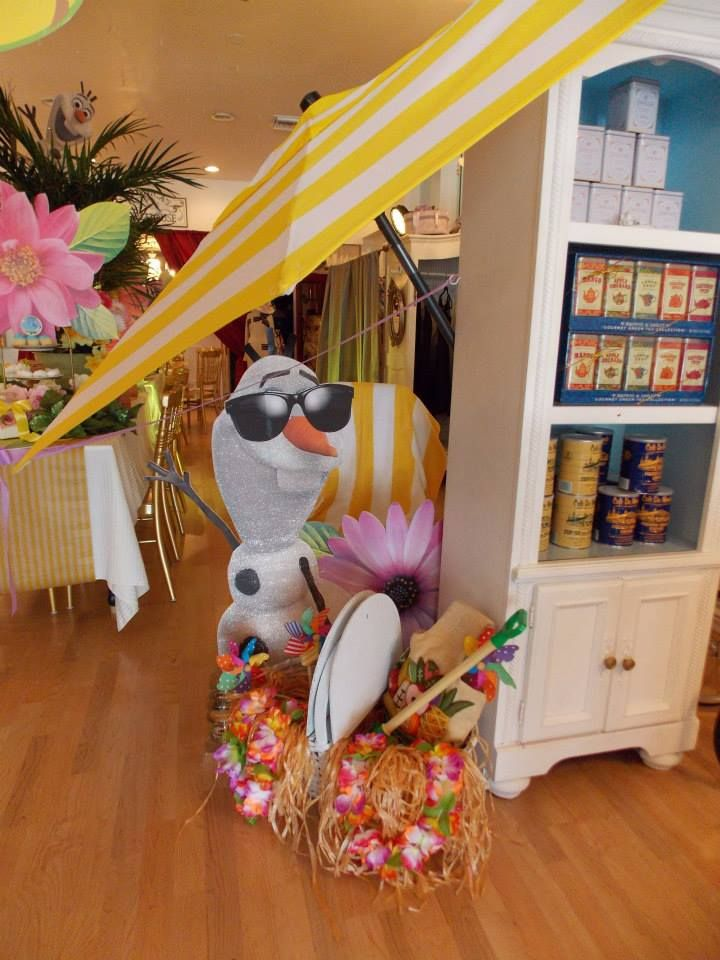 Frozen's Olaf Summer Land Party ~ Featured Party   Party Ideas By Seshalyn