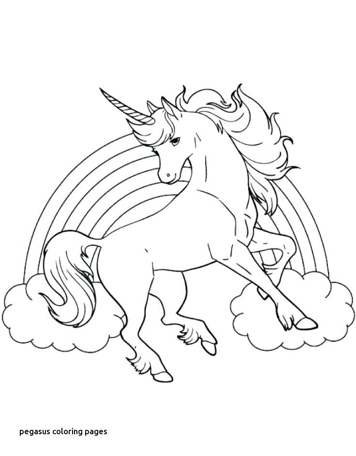 Unicorn With Wings Coloring Page Youngandtae Com Malvorlagen Tiere Malvorlage Prinzessin Wenn Du Mal Buch