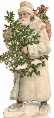 Vintage Santa brown coat
