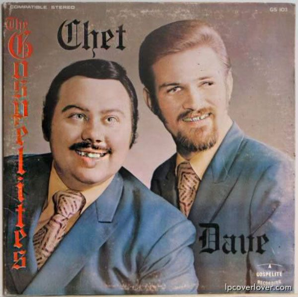 Mom always warned little Chet and Dave that if they made faces, they'd freeze that way forever...