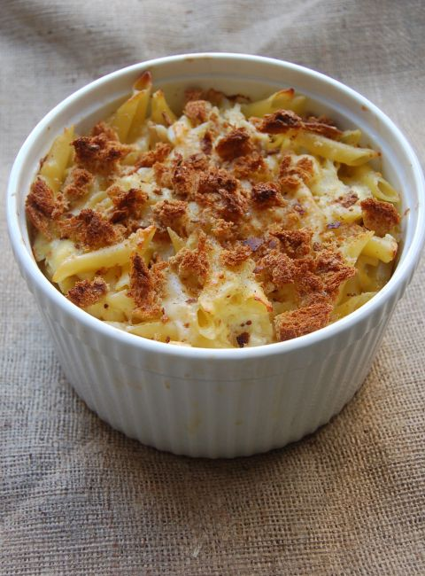 Chicken Macaroni Cheese Casserole