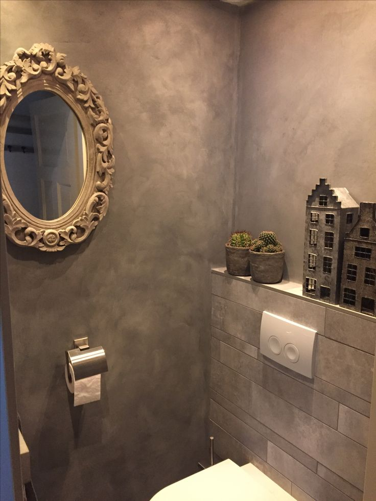 Toilet in betonlook