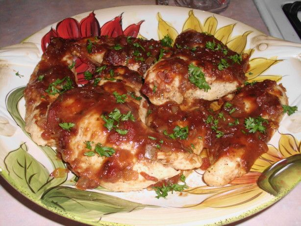 Make and share this Baked Salsa Chicken Breast recipe from Food.com.