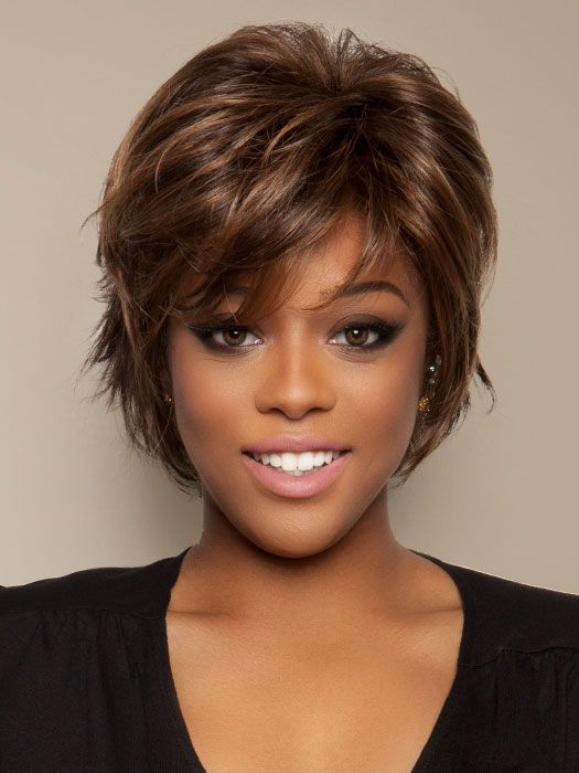 haircuts for thick hair salon cool synthetic lace front wig mono top 2713
