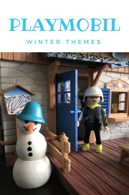New Playmobil Winter Ski Lodge