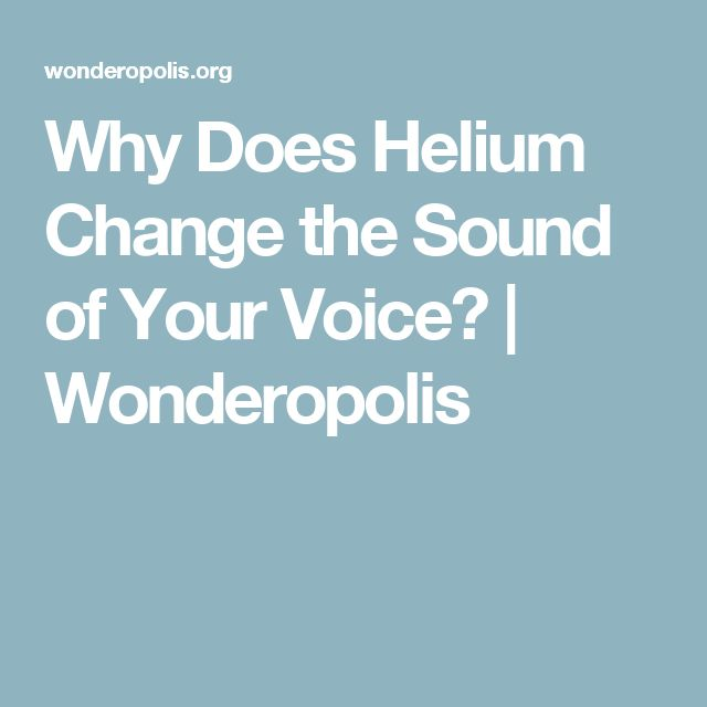 We may not be running out of helium after all