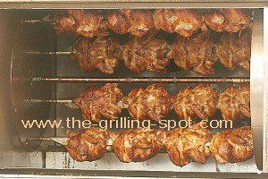 Commercial Rotisserie Grilling