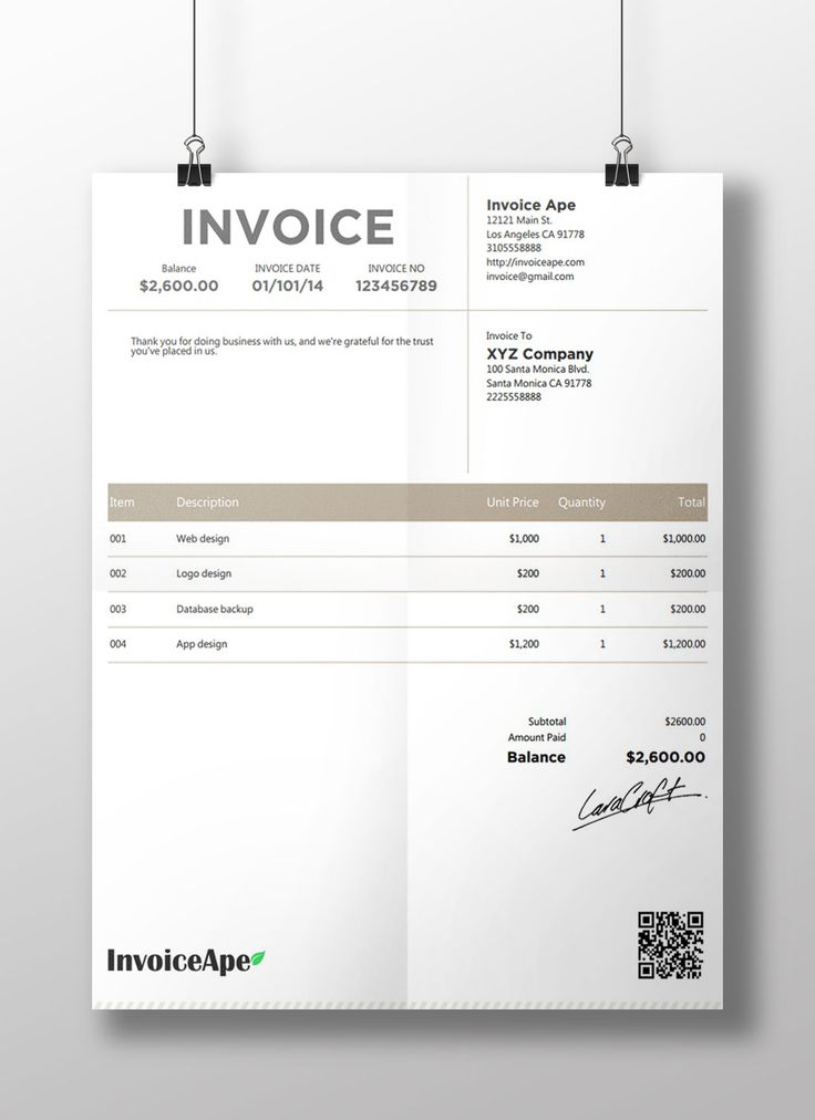 The 25+ best Invoice creator ideas on Pinterest Free invoice - resume template creator
