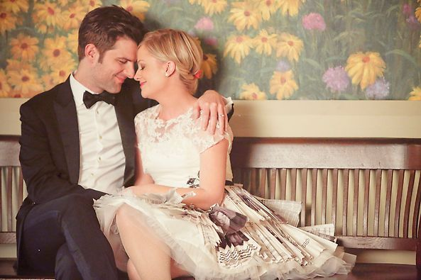 This actually makes me want to cry. Ben and Leslie | Parks and Rec |