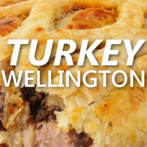 Rachael: Robert Irvine Turkey Wellington Recipe + Restaurant Express
