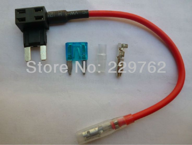 15A Mini auto Blade Fuse Tap Holder Add A Circuit Line ATM APM Car Truck Motorcycle Motorbike Free Shiping