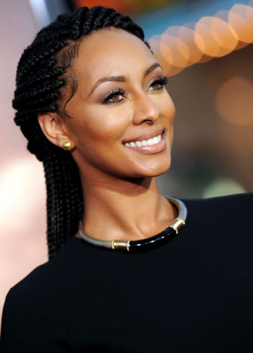Keri Hilson Rocks Shuku Hairstyle With Ghana Weaving | New ...