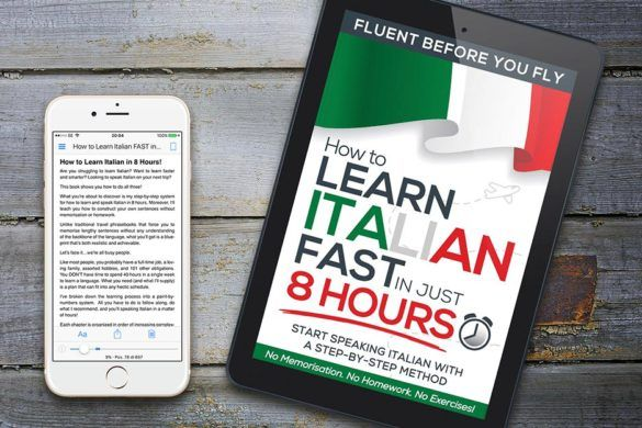 How to Learn Italian FAST in 8 Hours! Amazing New Method