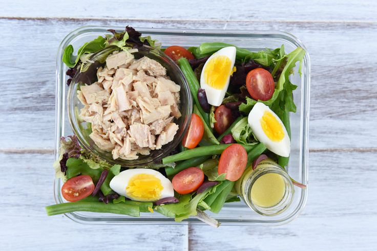 A variety of breakfasts, lunches, dinners, and snacks to keep you going all month.