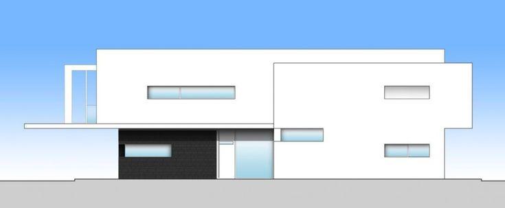 casa italia fachada lateral sur