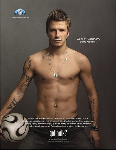 New Got Milk Ads | David Beckham