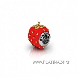 1100 руб. Подвеска-Перлина «Клубника» (П-0033)