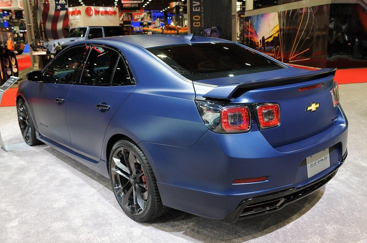 Супер-агрессивный Chevrolet Malibu Turbo Performance Concept