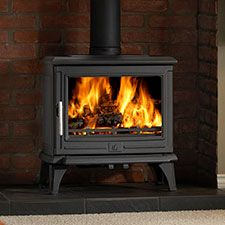 ACR Rowandale Multifuel Cast Iron Stove. The Rowandale stove features a stunning panoramic door and is equipped with a powerful airwash to keep the glass clean and show off the fire to its fullest effect. A 5Kw output makes it suitable for many room sizes whilst DEFRA approval means you can now burn wood in smoke controlled areas. The ability to also burn smokeless fuels makes the Rowandale a reliable heat source for your home.