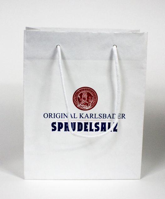Firemní papírová taška s potiskem