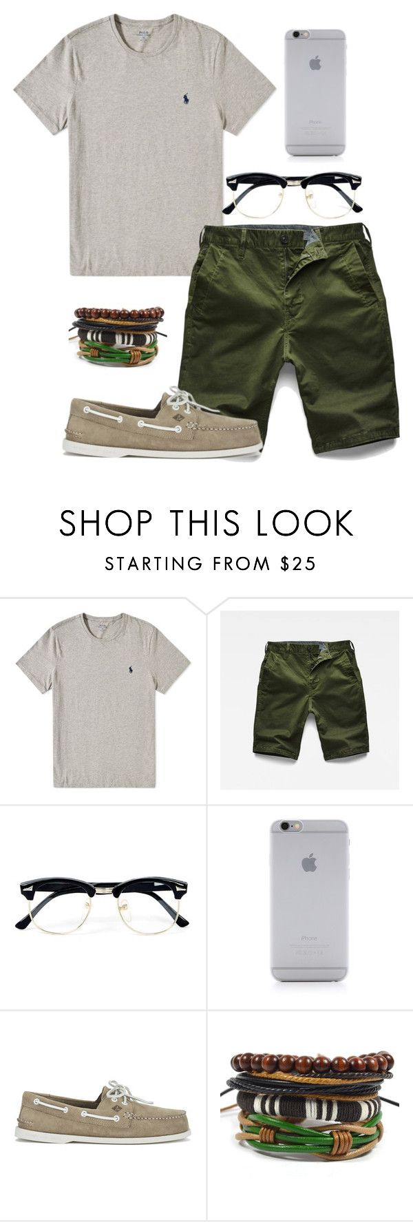 """""""Summer16 men"""" by ivy-goddard ❤ liked on Polyvore featuring G-Star Raw, Topman, Native Union, Sperry, men's fashion and menswear"""