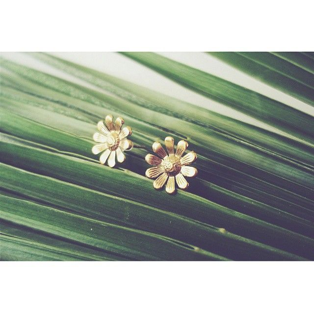 """Daisy"" earrings https://www.facebook.com/arto.of.p/"