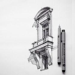 archisketchbook --arquitectura de bocetos, un conjunto de dibujos de arquitectura, modelos e ideas