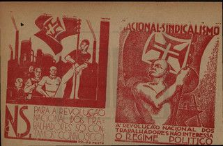 "The newspaper ""Revolution"", an organ of the national syndicalist movement, had a detachable supplement that was distributed free of charge."