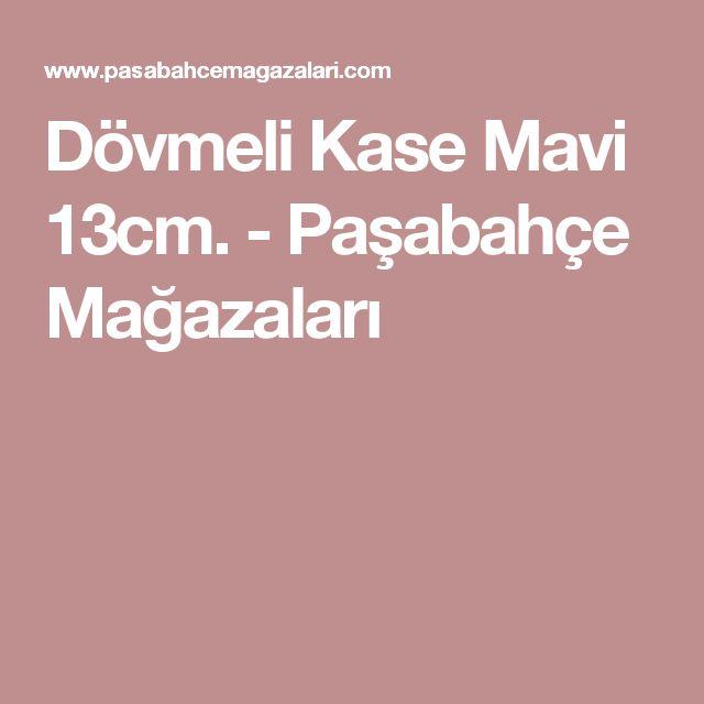 Dövmeli Kase Mavi 13cm. - Paşabahçe Mağazaları