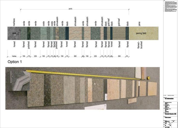 Arquitectura y Paisaje: patrones naturales y culturales proyectados en Sowwah Square por Martha Schwartz