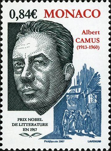 Prix Nobel de litterature - Albert Camus 1957