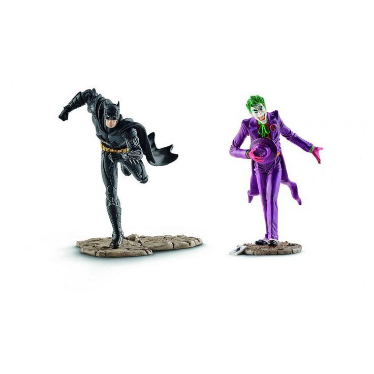 FIGURINE SCHLEICH - JUSTICE LEAGUE - Twin Pack Batman contre le Joker, Micromania, numéro un français du jeu vidéo. Retrouvez les tests de tous les jeux, réservez et achetez les dernières nouveautés consoles, jeux vidéo et PC