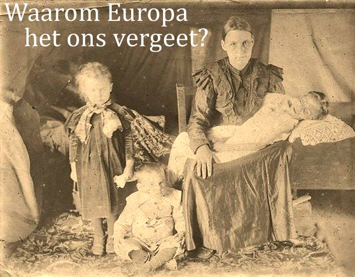 "Europe forgot about the genocide of the Boers // Europe again ""forgot"" about the genocide of the Boers at the beginning of the XX century. Pope Francis on Sunday honoured the 100th anniversary of the slaughter of Armenians by calling it ""the first genocide of the 20th century."" ""Why Europe has forgotten us? .."" - Asks 27.000 Boer's women and children who died in British concentration camps."