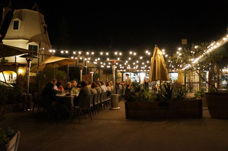Outdoor String Lights For Restaurants : Customer Ladybrents used our Commercial Globe String Lights on her restaurant patio and says ...