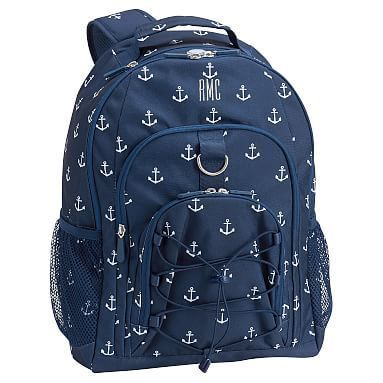 Gear-Up Navy Anchor Backpack #pbteen