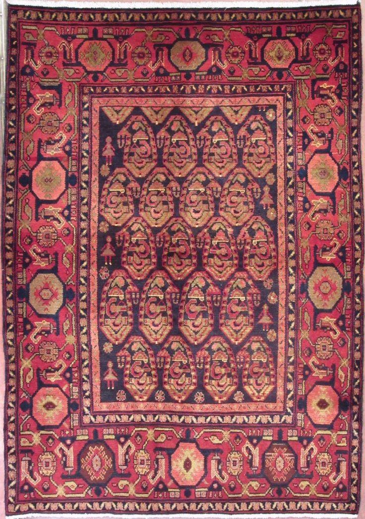 N.344590 – HAMADAN 203 x 142 cm. – Tappeti Orientali e Moderni Vendita Online Outlet