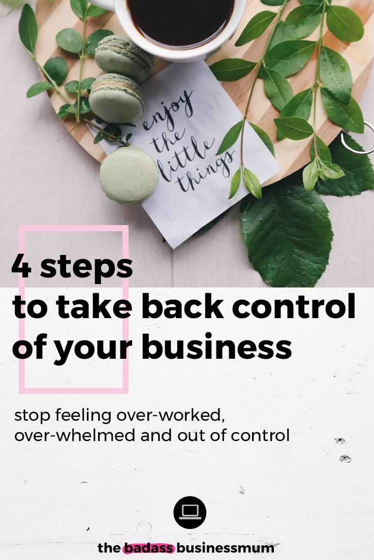 Are you feeling over-worked and over-whelmed but you're still under-achieving? Take back control of your business, de - stress and step off the trail of entrepreneurial self destruction with these 4 important tips