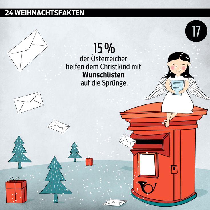 #Advent, Advent: #Türchen Nummer 17.  ______________________ #Adventkalender #Weihnachten #WusstenSieDass #xmas #Daten #Grafik #kurier _______________________ http://kurier.at/weihnachten