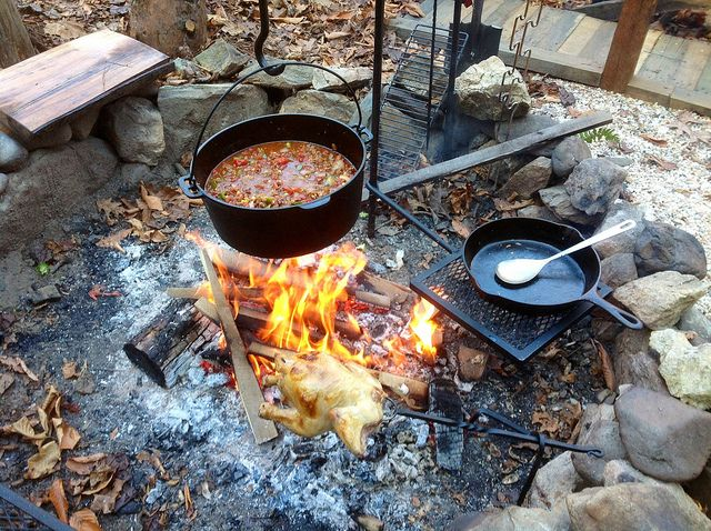 One pot meals make cooking so much easier when you 39 re out for Dutch oven camping recipes for two