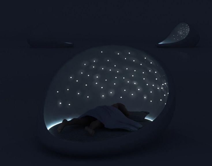 Beroligende seng på kvelden ;-)