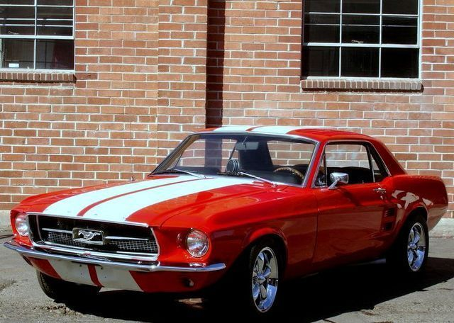 1967 Ford Mustang Coupe.Re-pin brought to you by agents of #carinsurance at #houseofinsurance in Eugene, Oregon