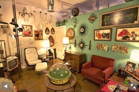 Find treasures ranging from sophisticated furniture to hard-to-find kitchen ware from the 1940s, 50s and 60s at RetrOKC, a vintage store in Oklahoma City's Plaza District.