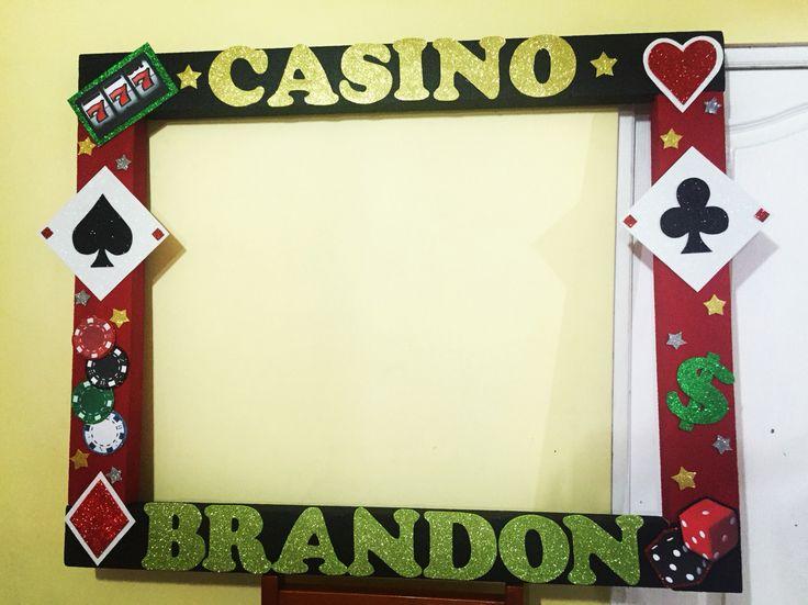Marco para fotos casino cuadros para fotos pinterest - Decoracion de marcos para fotos ...