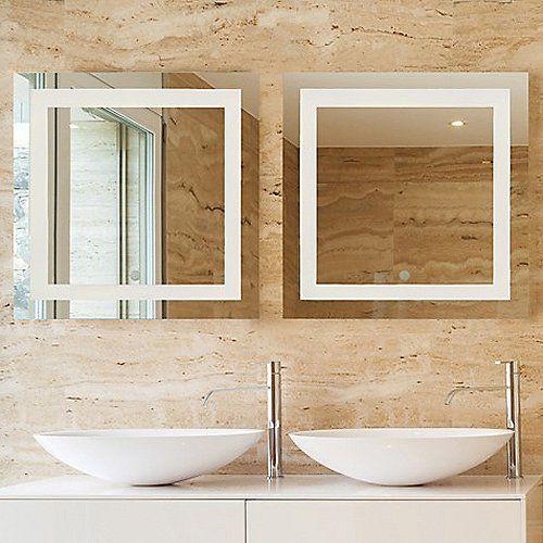 Spa LED Square Vanity Mirror In 2019