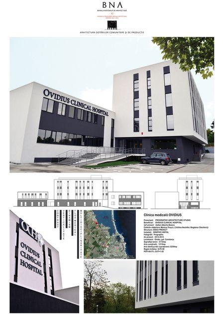 Clinica medicală Ovidius - Bienala Naţională de Arhitectură 2014